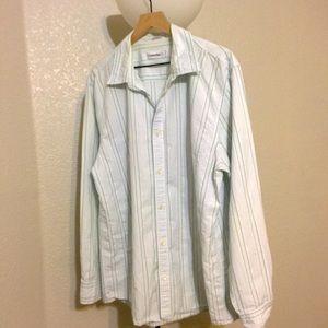 Calvin Klein button down shirt XL
